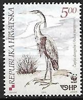 Croatia - MNH 2004 WWF : Purple Heron    Ardea Purpurea    Standing - Otros