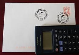 Fermeture Bureau Postal Militaire Bureau Postal Interarmées 125 8/7/2014 - Handstempels