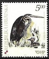 Croatia - MNH 2004 WWF : Purple Heron   - Ardea Purpurea    With Young - Otros