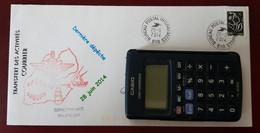 Fermeture Bureau Postal Interarmées 610 Djibouti Cachets Illustrés 28/6/2010 - Handstempels