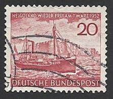 Deutschland, 1952, Mi.-Nr. 152, Gestempelt - Gebraucht