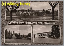 Mainhardt Geißelhardt  - S/w Mehrbildkarte 1   Im Mainhardter Wald - Otros