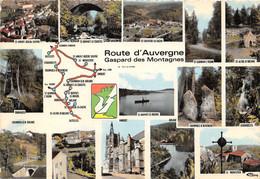 63-ROUTE D AUVERGNE-GASPARD DES MONTAGNES-N°268-B/0367 - Altri Comuni