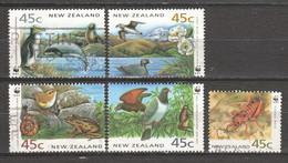 New Zealand 1993 Mi 1290-1294 Canceled - Oblitérés