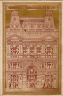 1881 Luxueux Menu Spiers And Pond's Carte Du Victoria Restaurant  23x15cm - Menus