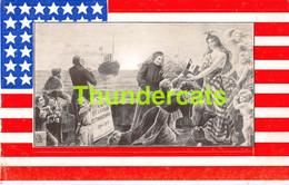 CPA LA BELGIQUE RECONNAISSANTE 1914 1915 ETAS UNIS USA DRAPEAU FLAG - War 1914-18