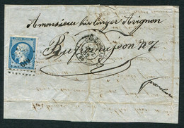 FRANCE ( OBLITERATION LOSANGE ) PC  619  Carpentras  Vaucluse (86) , A SAISIR .fra - 1849-1876: Periodo Classico
