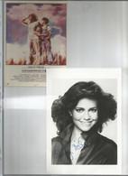 """Superbe Autographe Original Dédicacée Par  SALLY  FIELD   """"15 X 25 FRAIS DE PORT OFFERTS En France) - Actores"""
