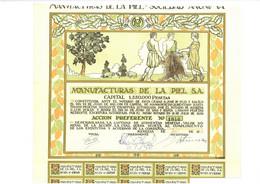 1930: Manufacturas De La Piel S.A. - Textil