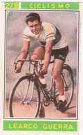 279 CICLISMO - LEARCO GUERRA - CAMPIONI DELLO SPORT 1967-68 PANINI STICKERS FIGURINE - Cyclisme