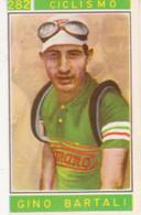 282 CICLISMO - GINO BARTALI - CAMPIONI DELLO SPORT 1967-68 PANINI STICKERS FIGURINE - Cyclisme