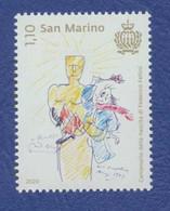 SAINT MARIN Federico Fellini Centenaire De La Naissance Neuf**. Oscar. Cinéma, Film, Movie. - Cinema