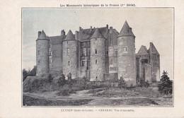 Luynes (37) - Château - Vue D'ensemble - Luynes