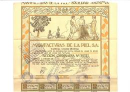 1921: Manufacturas De La Piel S.A. - Textil