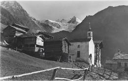 VALAIS GASENRIED - GASSENRIED Bei Grächen Riedgletscher - Photo Sarbach St. Niklaus No 5044 - Pas Circulé - VS Valais