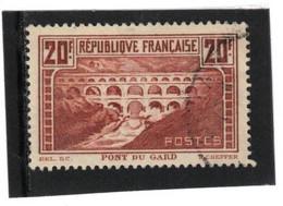Pont Du Gard YT 262 Type IIB - Used Stamps