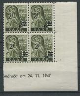 7610) 229 Z II Neuauflage Druckdatum - Unused Stamps