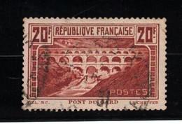 Pont Du Gard YT 262A Type I - Used Stamps