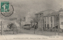 CPA-30-MOLIERES SUR CEZE-Entrée De La Ville, L'hôpital - Other Municipalities