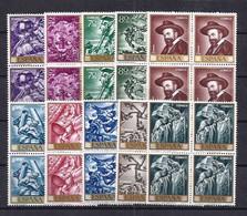 Spain 1966 - Jose M. Sert Ed 1710-19 (**) Bl - 1961-70 Neufs