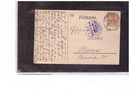 TEM12866  -   BREIDENBACH  19.3.1918   /   POSTKARTE  FRANKED WITH MICHEL  99  EF - Briefe U. Dokumente