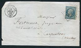 FRANCE ( OBLITERATION LOSANGE ) GC  788  Cavaillon  Vaucluse (86)  , A SAISIR .fra - 1849-1876: Periodo Classico