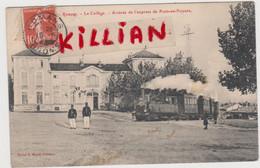 Romans Le Collège- Arrivée De L'express De Pont En Royan - Romans Sur Isere
