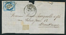 FRANCE ( OBLITERATION LOSANGE ) GC  168  Armentières Nord (57)   , A SAISIR .fra - 1849-1876: Periodo Classico
