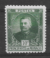 MONACO N° 65a Vert Foncé ** TTBE - Cote Y&T 2020 De 1,00 € - Nuevos