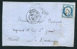 FRANCE ( OBLITERATION LOSANGE ) GC  467  Béthune  Pas-de-Calais (61) , A SAISIR .fra - 1849-1876: Periodo Classico