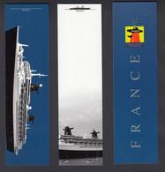 LOT 3 MARQUES-PAGES PAQUEBOT TRANSATLANTIQUE FRANCE - NORWAY - Passagiersschepen