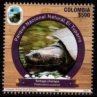 """A229E - KOLUMBIEN - 2020- MNH- TURTTLE- """"EL TUPARRO"""" NATURAL PARKS- BEAR - Kolumbien"""