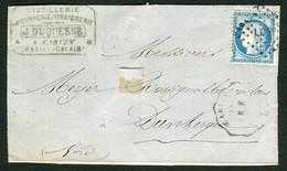 FRANCE ( OBLITERATION LOSANGE ) GC  LG ?  , A SAISIR .fra - 1849-1876: Période Classique