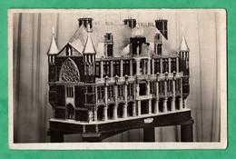 Carte Photo  Maquette à Identifier ? Maison Du Travail Paris 20 Juillet 1937  ( Format 9cm X 14cm ) - Non Classificati