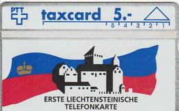 Switzerland - Erste Liechtensteinische Telefonkarte  - 109E - Suisse