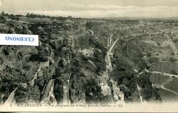 CPA -  ROCAMADOUR - VUE PLONGEANTE SUR LE BOURG PRISE DU CHATEAU (ETAT PARFAIT) - Rocamadour
