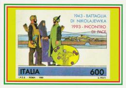 Militari - Cartoline Alpine Con Annullo Adunata Alpini Latina 2009 - - Patriottiche