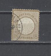 ALLEMAGNE EMPIRE.  YT   N° 11  Obl   1872 - Oblitérés