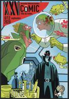 ESPAÑA SPAIN ESPAGNE (2020) - Tarjeta / Card Jornadas Comic PCR Test COVID 19 Superhero + Special Postmark - 1931-....