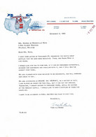 VP COURRIER 1965 (V2030) AMERICAN WINE & Importing Co. (1 Vue) Dallas Texas 75223 - Etats-Unis