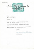 VP COURRIER 1962 (V2030) AMERICAN WINE & Importing Co. (1 Vue) Dallas Texas South Haskell Avenue - Etats-Unis