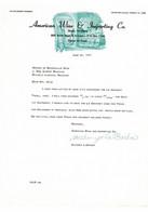 VP COURRIER 1962 (V2030) AMERICAN WINE & Importing Co. (1 Vue) Dallas Texas South Haskell Avenue - Estados Unidos