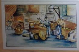 Petit Calendrier De Poche 1989 Illustration Le Fournil Pain Boulanger - Charcuterie Argentan - Formato Piccolo : 1981-90