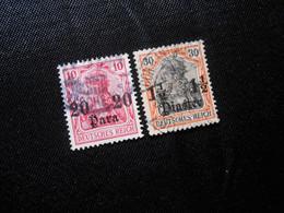 DR Mi 37a/40 - Deutsche Auslandpostämter (Türkei) - 1905 - Mi 14,20 € - Lot 448 - Offices: Turkish Empire