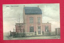 C.P. Blaton =  PLACE  DE LA GARE - Bernissart