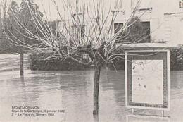 MONTMORILLON. - Crue De La Gartempe: 6 Janvier 1982. - La Place Du 19 Mars 1962 - Montmorillon