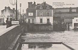 MONTMORILLON. - Crue De La Gartempe: 6 Janvier 1982. - Le Pont Neuf - Montmorillon