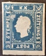 AUSTRIA 1858 - MLH - ANK 16 - Newspaper Stamp - Nuovi