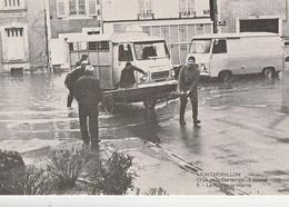 MONTMORILLON. - Crue De La Gartempe: 6 Janvier 1982. - La Rue De La Marne - Montmorillon