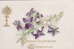 Images Religieuse Souvenir De Première Communion Marie Morvan Quimper 14/05//1891  2884 - Devotion Images